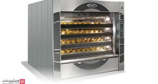 دستگاه طبقه ای نان پزی