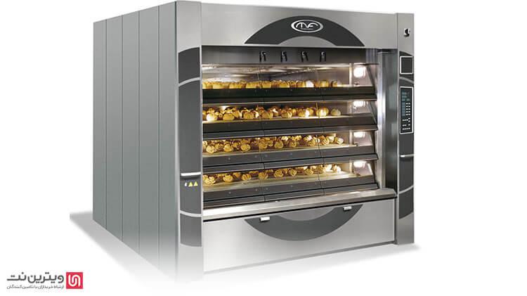 صادرات انواع دستگاه طبقه ای نان پزی