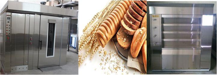دستگاه نان فانتزی صنعتی