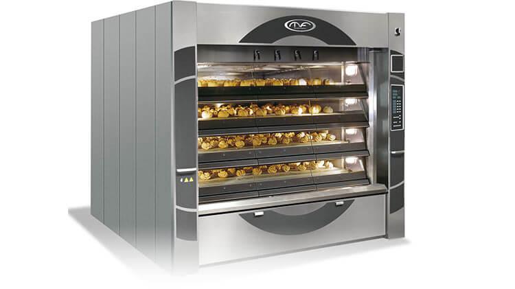 دستگاه طبقه ای پخت نان