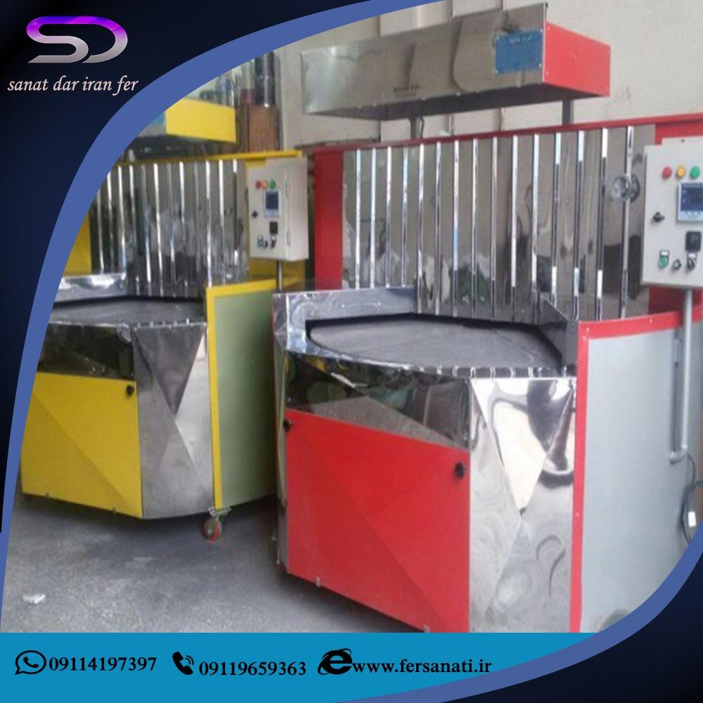 فروش انواع دستگاه نانوایی