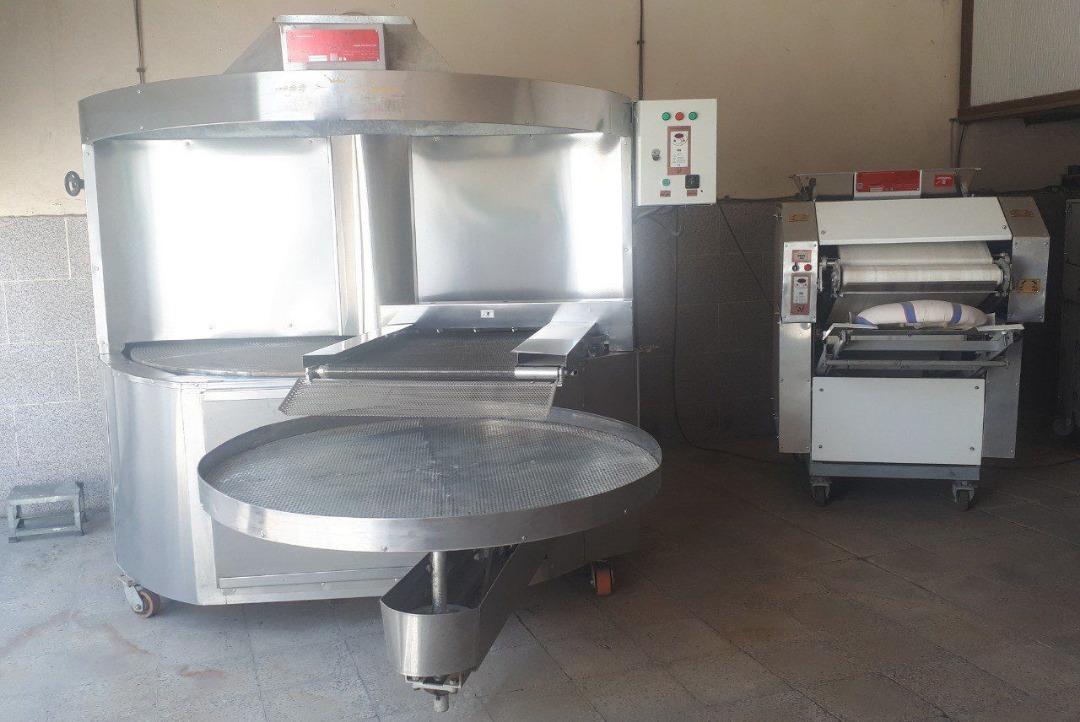 خریددستگاه صنعتی نانوایی