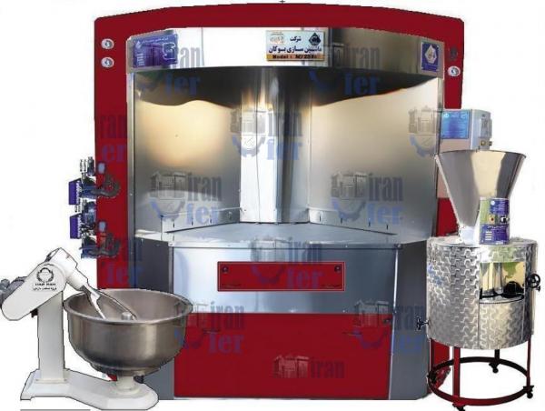 فروش دستگاه فر پخت نان دوار در استان گلستان