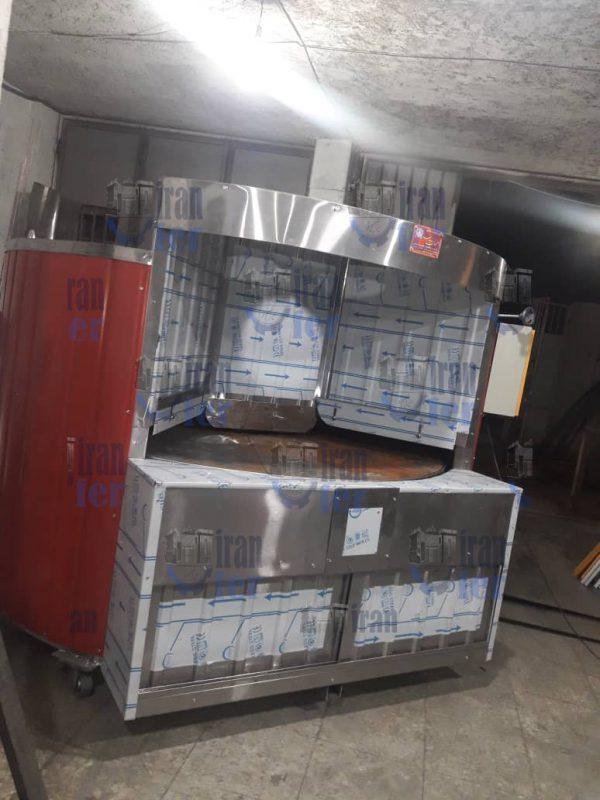 نصب و راه اندازی دستگاه پخت نان صنعتی