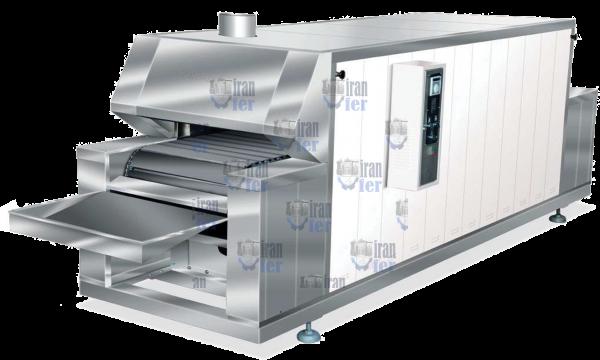 فروش دستگاه پخت اتوماتیک نان لواش نرم با حرارت غیر مستقیم